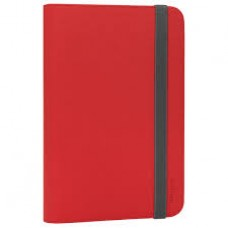 Targus Universal Tablet Folio Stand 7-8 Red - THZ33301EU