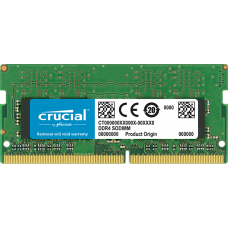 Crucial 16GB DDR4 2400MHZ SODIMM 204-Pin Memory Notebook - CT16G4SFD824A