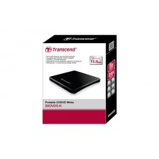 Transcend Extra Slim Portable DVD Writer (TS8XDVDS-K)