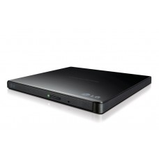LG Ultra-Slim Portable DVD Burner & Drive with M-DISC™ Support GP65NB60 Black