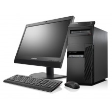 "Lenovo ThinkCentre M83 MT Core i5-4460, 8GB RAM, 500GB HDD, DVDRW, DOS With 21.5"" LED"