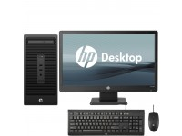 "HP 280 G2, Core i3-6100, 4GB RAM, 500GB HDD Microtower Desktop With 18.5"" LED"
