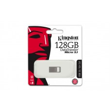 Kingston 128GB Micro Flash Drive USB3.1/3.0/2.0 (DTMC3/128GB)
