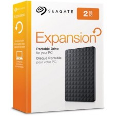 2TB Seagate  Expansion Portable External Hard Drive USB 3.0 Model STEA2000400 Black