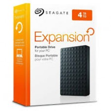 4 TB Seagate Back Up Plus 4TB Portable Hard Drive (STDR4000200) Black