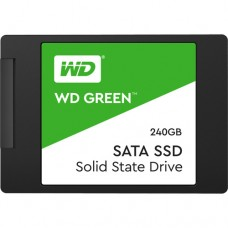 "WD 240GB Green SATA III 2.5"" Internal SSD  WDS240G2G0A"
