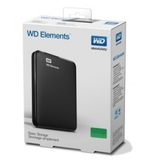WD Elements 1TB Portable External Hard Drive - USB 3.0 - WDBUZG0010BBK-EESN