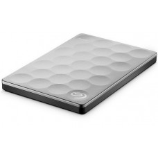 1TB Seagate Backup Plus Ultra Slim External Hard Drive (STEH1000200) – Platinum