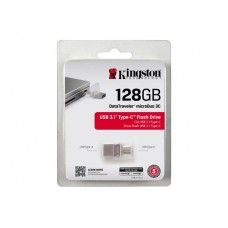 Kingston 128GB Data Traveler DUO3C USB 3.0/3.1 + Type-C Flash Drive (DTDUO3C/128GB)