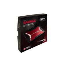 Kingston HyperX Savage 120GB SSD SATA 3 2.5 (7mm height) Solid State Drive (SHSS37A/120G)