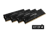 Kingston  32GB 3200MHZ DDR4 DIMM CL16 Kit Of 4 XMP HyperX Predator (HX432C16PB3K4/32)