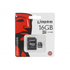 Kingston 16GB microSDHC Flash Card (Class 4) Model SDC4/16GB