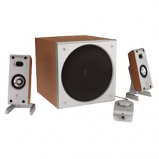 Logitech Z-3 Wood Grained 2.1 Speakers