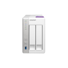 Qnap TS-231P Personal Cloud NAS with DLNA, mobile apps and Airplay support. ARM Cortex A15 1.7GHz Dual Core, 1GB RAM