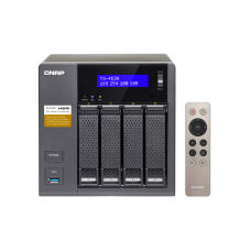 QNAP TS-453A 4-Bay Professional-Grade Network Attached Storage, Supports 4K Playback (TS-453A-4G-US)