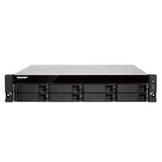Qnap TS-853BU-RP-4G 2U 8-bay NAS/iSCSI IP-SAN,10GbE-ready, PCIe Expansion Slot, Redundant PSU