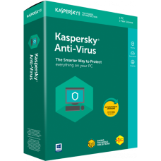 Kaspersky Anti Virus 2018 (1USER + 1 year license)